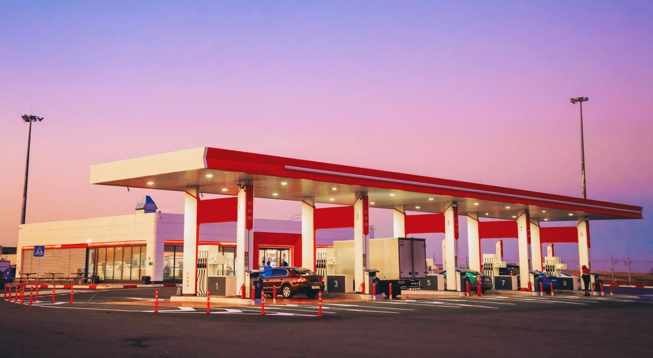 active watch gas station surveillance and cctv security cameras