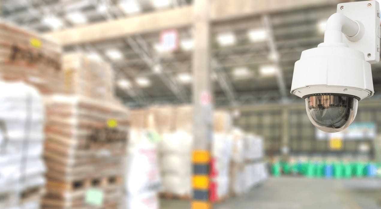 active watch warehouse video surveillance and video monitoring